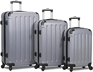 Dejuno Neato 3-Piece Hardside Spinner Combination Lock Luggage Set