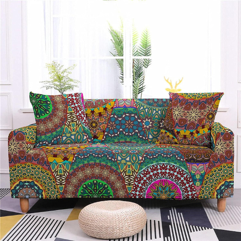 ZHOUMOLIN 1 2021 model 2 3 4 Seater Award-winning store Pattern Flower Slipcove Sofa Cover