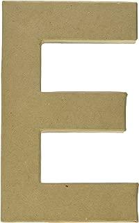 Craft Ped Paper CPL1006251-E.K Mache Letter E Kraft, 8