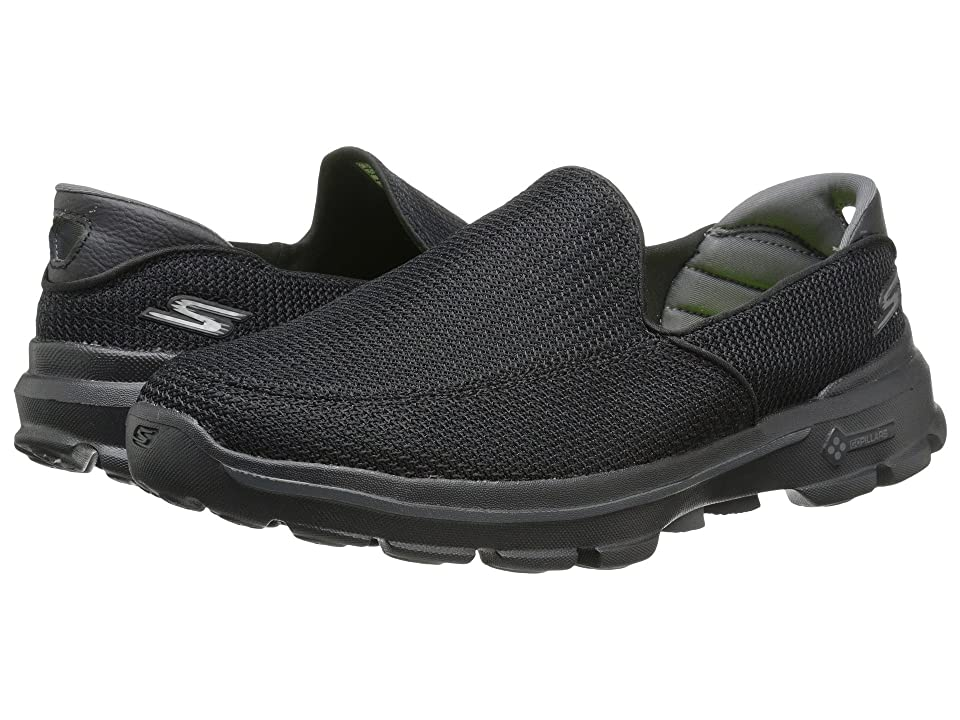 SKECHERS Performance Go Walk 3 (Black) Men