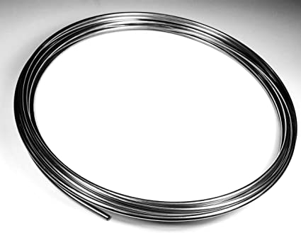 """The Stop Shop Stainless Brake Line Tube Coil Roll 3/16"""" 16 ft.: image"""