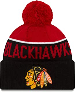 New Era Chicago Blackhawks Fan Hat Knit Beanie Jersey Sweatshirt Hoodie T-Shirt Flag Apparel