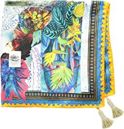 Etro Surreal Pocket Square