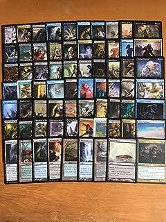 Blue/Black Zombie EDH Deck - Custom Build - Elite - MTG - Commander - 100 Card