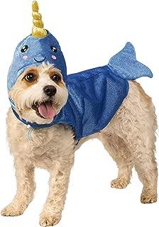 Rubies Narwhal 宠物中性动物服装 如图所示 X大码