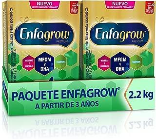 Leche de Crecimiento para Niños mayores de 3 años, Enfagrow Premium Etapa 4, Paquete especial de 2200 gramos, rinde 56 días