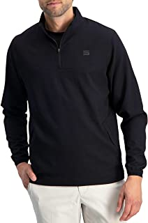 Mens Windbreaker Jackets - Half Zip Golf Pullover Wind Jacket - Vented, Dry Fit