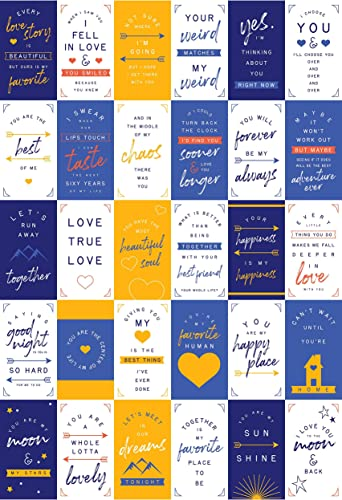 wholesale Love Cards for Husband and Wife (60 outlet sale Pack of His and Her sale Motivational Notes with 30 Different Designs (3.5 inch x 2 inch) sale