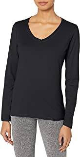 Women's V-Neck Long Sleeve Tee