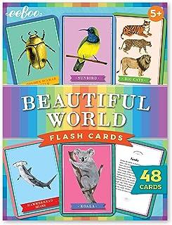eeBoo's Beautiful World Educational Flash Cards For Kids