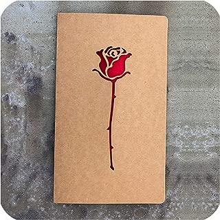 1pc Kraft paper Valentine's Day pattern hollow greeting card invitation Wedding thanks birthday card paper gift,Light Grey