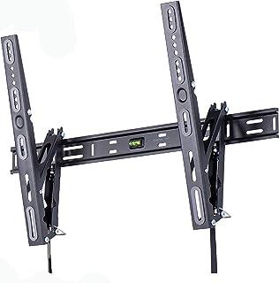 """Amazon Basics, supporto a parete per TV da 50-85"""", a basso profilo, inclinazione e altezza regolabili, gamma Performance"""