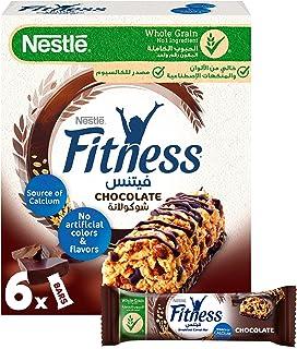 الواح حبوب الافطار بالشوكولاتة فيتنس من نستله - 6 قطع، 23.5 غرام
