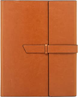 Gallaway Leather Padfolio Portfolio Folder -fits Letter Legal A4 Notebooks Notepads..