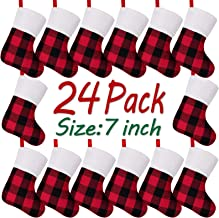 Best red and black plaid christmas stocking Reviews