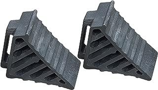 DK safety, 308A Heavy Duty Wheel Chocks with Handle, Wheel Immobilizer, Trailer Chocks, Car Chocks, Truck Chocks, Wheel Chocks, Keep Your Vehicle in Place - Pack of 2