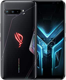 "ASUS ROG Gaming Phone 3-6.59"" FHD+ 2340x1080 HDR 144Hz Display - 6000mAh Battery - 64MP/13MP/5MP Triple Camera with 24MP F..."