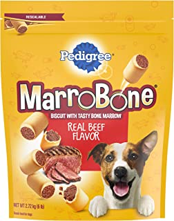 Pedigree Marrobone Dog Treats, Beef Flavor