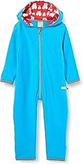 Loud + Proud Overall Fleece Salopette, Aqua, 50/56 Mixte Enfant