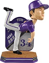 Forever Collectibles Jake Arrieta TCU Horned Frogs Special Edition College Name and Number Bobblehead