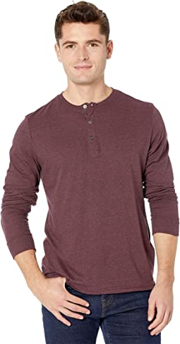 Tri-Blend Long Sleeved Henley