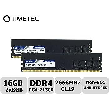 DDR4 2666 DIMM PC4-21300 1.2V 288-Pin Memory Upgrade Module A-Tech 16GB RAM for FUJITSU PRIMERGY RX1330 M4