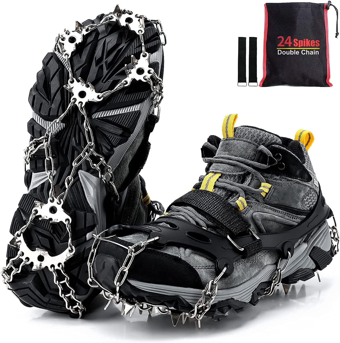 Ice Sale Special Price Cleats Outdoor Walk Traction Crampons Minneapolis Mall and for Boo Shoes