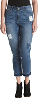 Relativity Patch Work Release Ankle Jeans