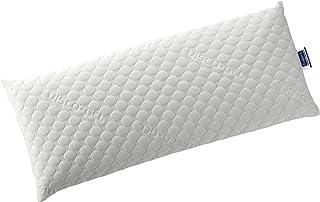 Todocama - Almohada viscoelástica VISCOGEL con Copos 100% viscoelásticos. Tejido Strech Viscogel. Firmeza Media - Alta. (Todas Las Medidas Disponibles). (90 cm)
