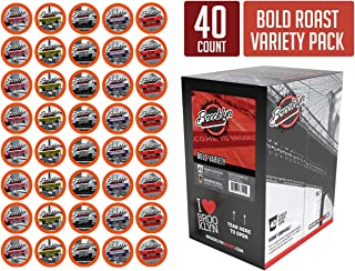 Brooklyn Beans Bold Variety Pack Coffee Pods, Compatible with 2.0 K-Cup Brewers, 40 Count