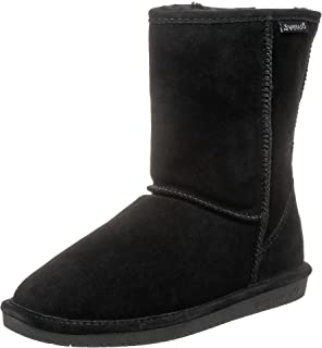 short black bearpaw boots