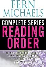 FERN MICHAELS COMPLETE SERIES READING ORDER: Sisterhood, Godmothers, Sins, Captives, Men of the Sisterhood, Cisco, Kentucky, Texas, Vegas, and more!