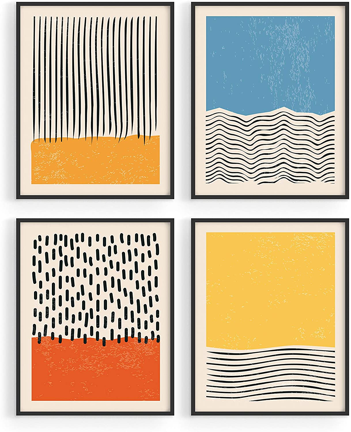 Modern Abstract Wall Art Prints   by Haus and Hues   Modern Prints Wall Art    Mid Century Modern Abstract Art Prints   Abstract Posters Abstract ...