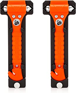 Lifehammer Brand Car Safety Hammer, The Original Emergency Escape and Rescue Tool with Seatbelt Cutter, Made in The Nether...