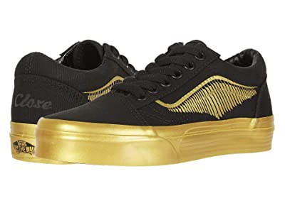 Vans Kids Vans x Harry Potter Sneaker Collection (Little Kid/Big Kid) ((Harry Potter) Old Skool Golden Snitch/Black) Kids Shoes