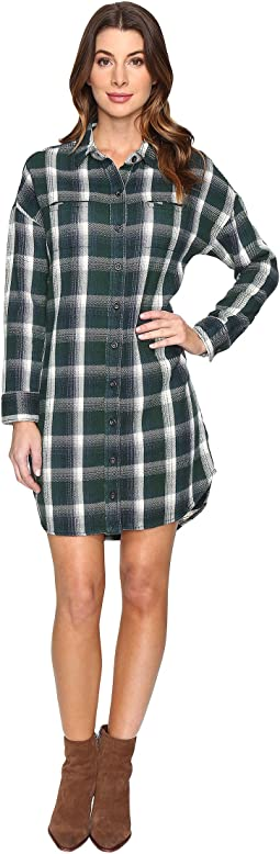 Yarn-Dye Flannel Timberwood Shirtdress