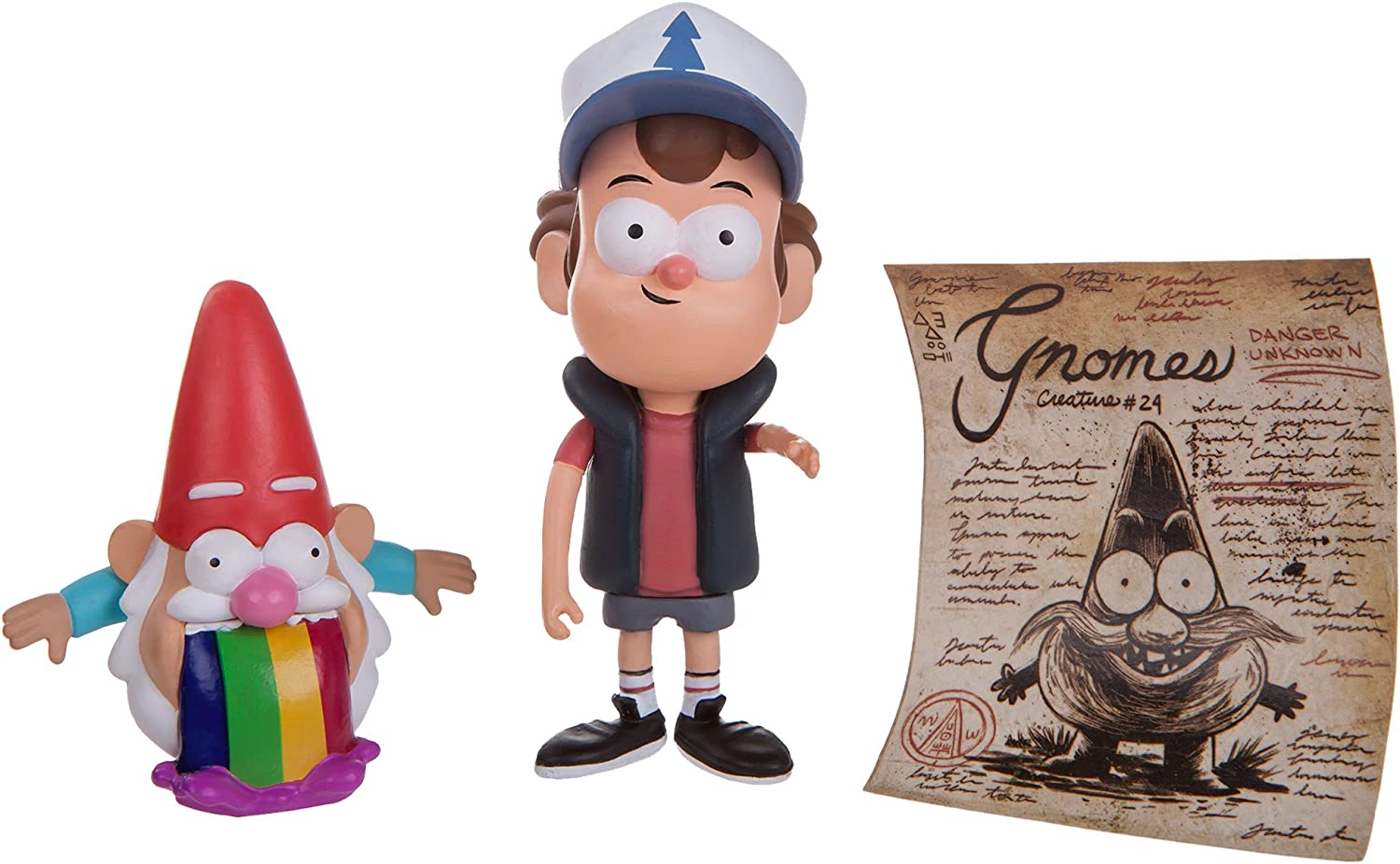 Gravity Falls 3  Mini Figure  Dipper & Barfing Gnome by Jazwares, Inc.