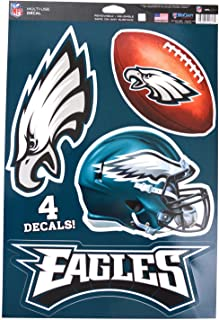 WinCraft Official National Football League Fan Shop Licensed NFL Shop Multi-use Decals (Philadelphia Eagles)