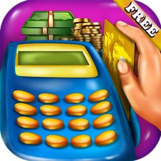 Cajera de supermercado : Manejar el dinero, usar caja registradora y POS en este juego de cajera de supermercado y las compras ! GRATIS