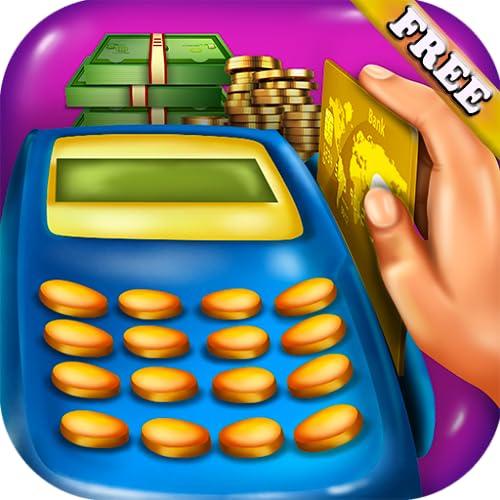 Supermarkt Kassierer : Griff Geld verwenden Kassen und POS in diesem Spiel der Supermarkt Kassiererin und Shopping ! KOSTENLOS
