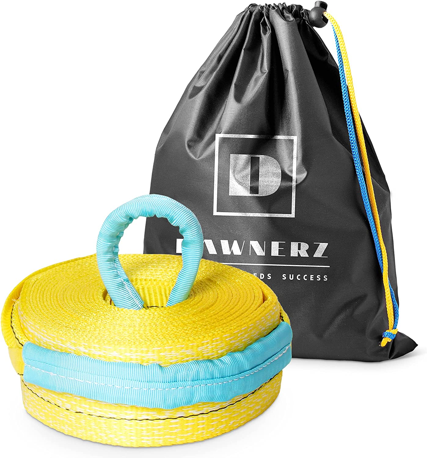 Tow Strap Heavy Duty 20 ft San Diego Mall 55000 lbs Towing m Dawnerz Challenge the lowest price 6 - Rope 2