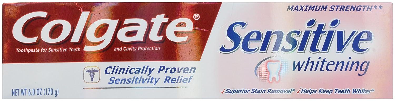 Colgate Sensitive Popularity Maximum Strength OFFicial site Plus Wh Toothpaste