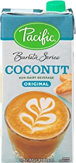 Pacific Barista Series Original Coconut Non Dairy Beverage, 32 Fluid Ounce -- 12 per case.