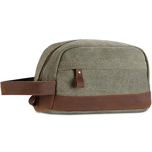 e1e51ee4eb ProCase Travel Shaving Dopp Kit Grooming Shaver Bag