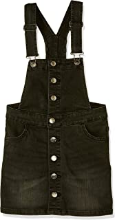 Riders by Lee Kids Button Thru Dungaree Dress