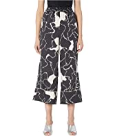 YIGAL AZROUËL - Ocean Crest Printed Twill Elastic-Waisted Pants