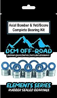 Axial 1/10 RR10 Bomber, Yeti & Score Sealed Bearing Kit Set (27 Bearings)