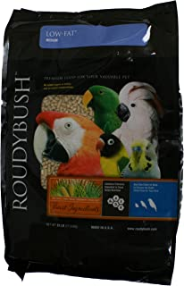 RoudyBush Low Fat Bird Food, Medium, 25-Pound