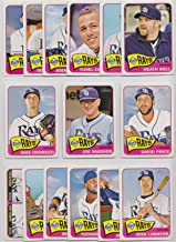 Tampa Bay Rays / 2014 Topps Heritage Baseball Team Set with all Short Print Cards