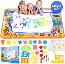 Water Aqua Doodle Drawing Mat - Mess Free Magic Toddles Large Painting Pad - Educational Coloring Writing Toys Gift for Kids Age 2+ (39.3
